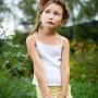 Детская фотосессия на природе.