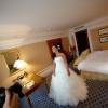невеста в номере отеля Ритц-Карлтон, Москва