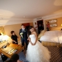 жених и невеста в номере отеля Ритц-Карлтон, Москва